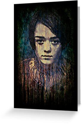 Arya Stark by Deadmansdust