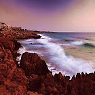 Colorful Coastal Waves by iggys
