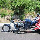 America  Head out on the Highway by Linda Jackson
