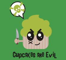 Cupcakes are evil - A muderous cupcake by lucy Dynamite by LucyDynamite