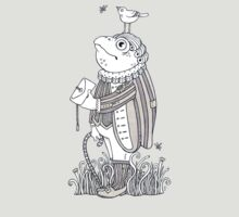 The Frog Footman (T-shirt) by Anita Inverarity