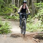 Mountain Bike Chick by Lisa Kyle Young