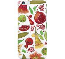 Kawaii Pomegranates Family iPhone Case/Skin