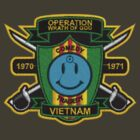 Watchmen - Nam Patch (embroidered) Top Center by btnkdrms