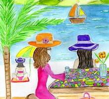 beach bar by Hbeth