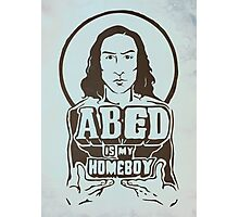 Abed Is My Homeboy Photographic Print
