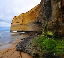 Gibson Steps. Port Campbell National Park, Victoria, Australia by Ralph de Zilva