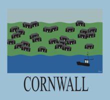 Cornwall fishing village by stuwdamdorp