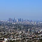 Los Angeles Skyline by maventalk