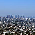 Los Angeles Skyline by maventalk
