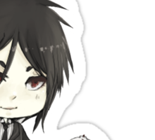 Black Butler - Sebastian Sticker