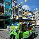 Khao San Road in Bangkok by Kerry Dunstone