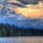 Mt. Hood Storm by Bob Hortman