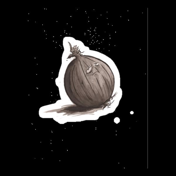 Sad Onion by Seamus Light