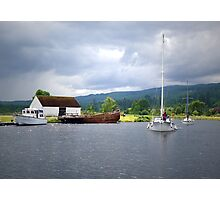 Approaching Caledonian Canal Photographic Print