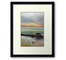 North Cottesloe Beach - Western Australia  Framed Print