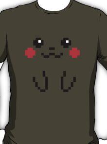 Pikachu Face 8bit T-Shirt