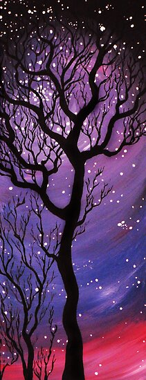 Tree and Stars  by TheCroc1979