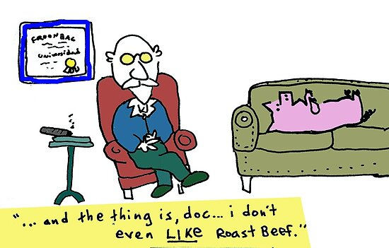 Pig Analyst by Ollie Brock