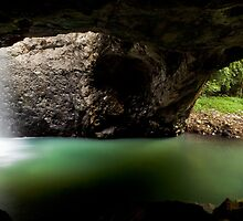Natural Bridge, Springbrook National Park by Martin Canning