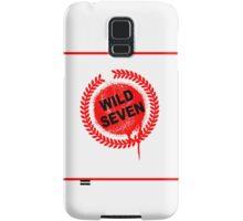 Wild Seven (clean) Samsung Galaxy Case/Skin