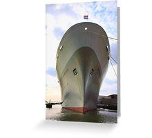 SS Rotterdam Greeting Card