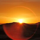 Sunrise in the Sahara, Morocco by Debbie Pinard