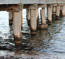 Water under the Pier by ezycardz