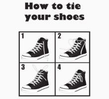 How To Tie Your All Stars by fleros