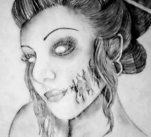 Beautiful Zombie by kendlesixx