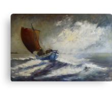 Last Catch of The Day Canvas Print