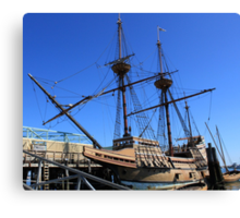 Mayflower sailing ship photography Canvas Print