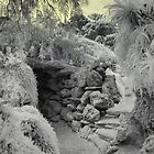 Werribee Mansion - Ext IR Grotto Entrance by lightsmith