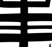 Goku Kanji Symbol Sticker