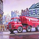 Mobilgas petrol tanker. by Mike Jeffries