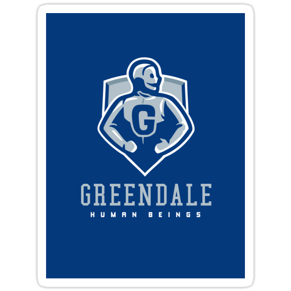Greendale Human Beings - STICKER by WinterArtwork