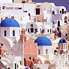 Oia's Majesty by phil decocco