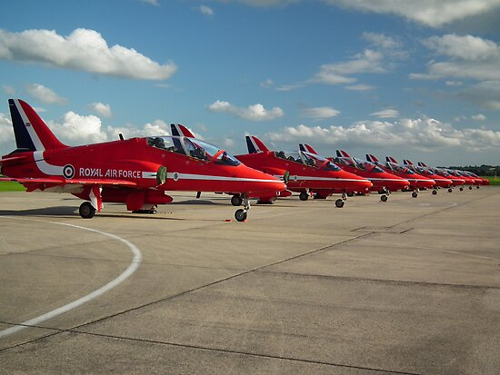 Reds Lined up by Andy Jordan
