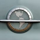 1954 Oldsmobile Super 88 Emblem by Jill Reger