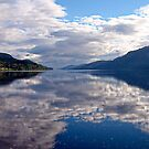 """Loch Ness"", Scotland by globeboater"