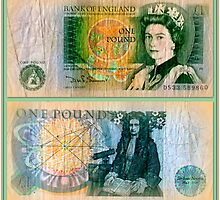 British 1 pound note by ©The Creative  Minds