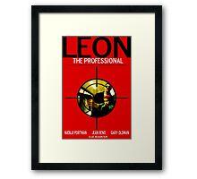 Leon: The Professional Framed Print