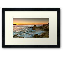 Long Bay Sunrise Framed Print