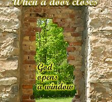 When a door closes by Heather Crough