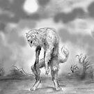 werewolf and wasteland by mattycarpets
