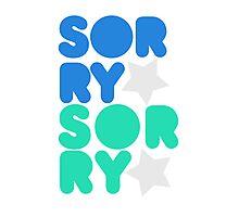 [SUJU] Sorry Sorry Photographic Print