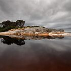 On a Grey Day - Bay of Fires by Barbara Burkhardt