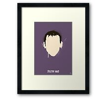 His 9th Face Framed Print