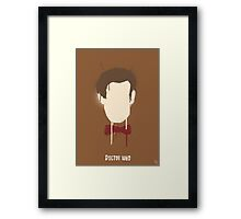 His 11th Face Framed Print