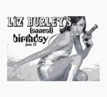 Liz Hurley's (annual) Birthday by dylan9